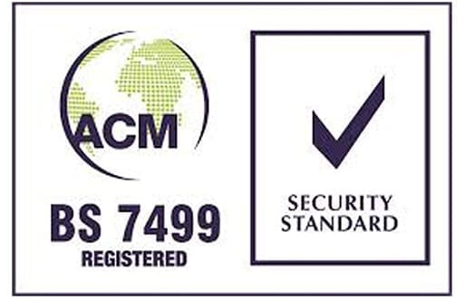 acm bs 7499 accred logos