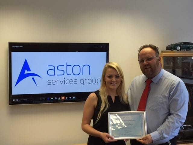 Gemma Walkin - Going Above & Beyond at Aston Services Group
