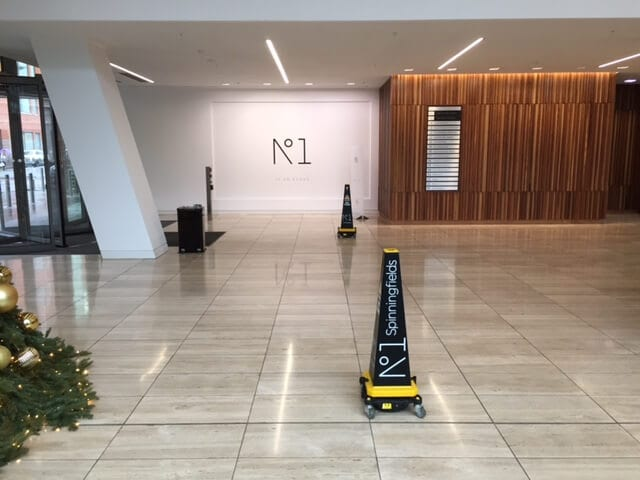 Daily Cleaning Service at Spinningfields by Aston Services Group