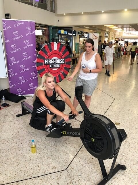 Aston Services Charity Rowing Challenge