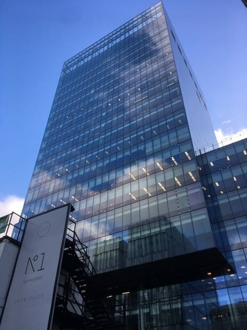 Spinningfields - One of Aston's Facility Services Clients