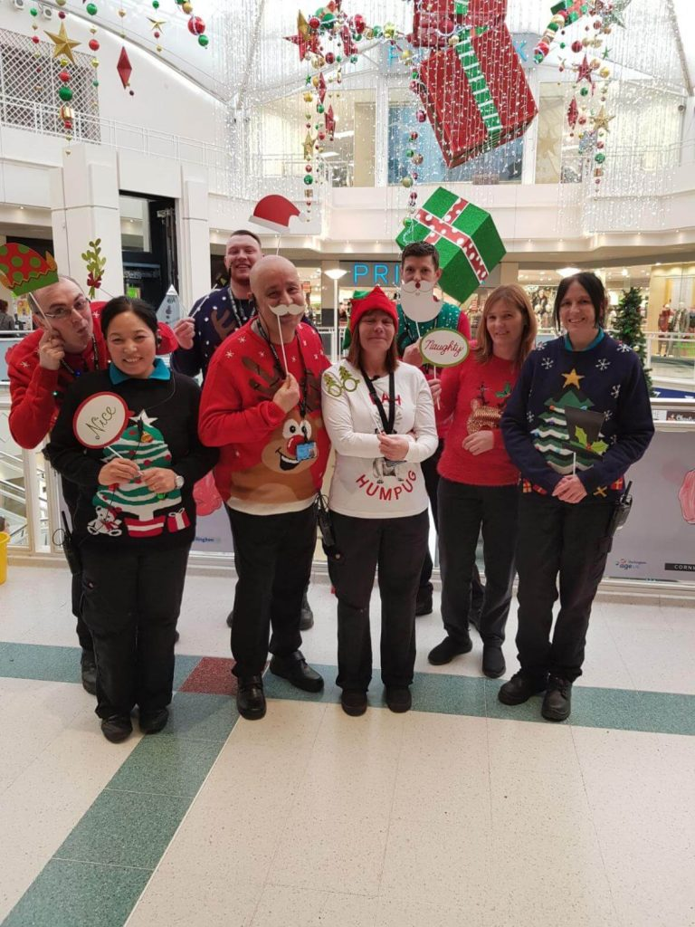 Aston Services Staff Help Cormill Raise Money for Charity