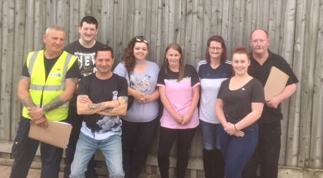 Aston Services Group Developing Staff