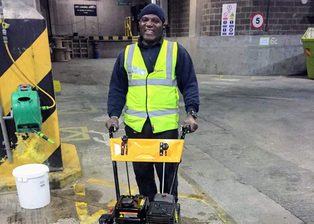 Aston Services Group Employee Working